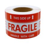 FRAGILE Stickers (Roll)