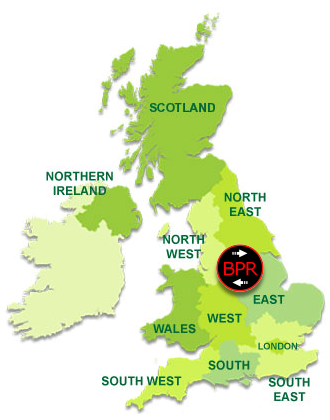 Nationwide UK Coverage (United Kingdom Map graphic)