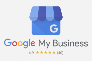 Google My Business (4.9 out of 5!)