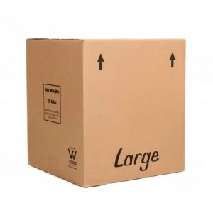 Cardboard Box for Moving House (Double-walled) [Large]