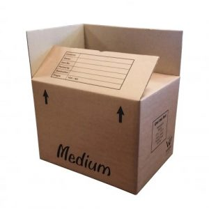 Cardboard Box for Moving House (Double-walled) [Medium]